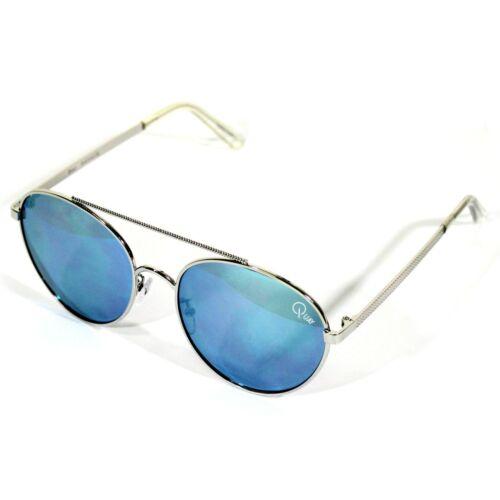 Quay Australia Damen Sonnenbrille CIRCUS LIFE sunglasses silver