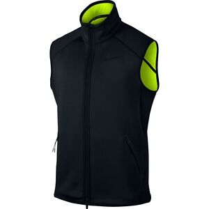 a266e40bfa Details about Nike Therma Sphere Max Men's Full-zip Training Vest