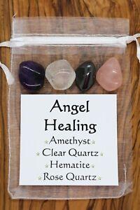 Angel-Healing-Crystal-Gift-Set-Clear-Quartz-Amethyst-Hematite-Rose-Quartz-Love
