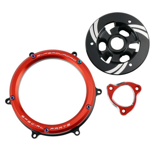 Racing Clear Clutch Cover Spring For Ducati 959 1199 1299 Panigale S R 2012-2019