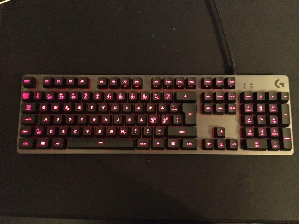 Tastatur, Logitech, G413 carbon