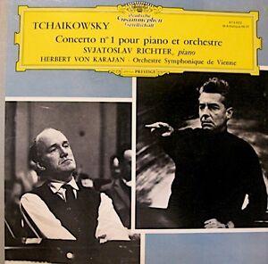 KARAJAN-RICHTER-VIENNE-concerto-1-piano-TCHAIKOWSKY-LP