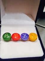 Xbox 360 Controller Buttons One Pair Stud Earrings Gamer Retro Custom Usa