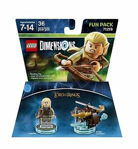 LEGO-DIMENSIONS-The-Movie-Fun-Pack-Legolas-Lord-of-Rings-Arrow-71219-36pcs-NIB