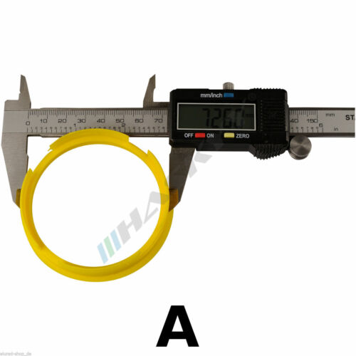 Anelli di centraggio 4 76,9 72,6 Kirsch BROCK MOTEC KESKIN RC design