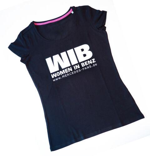 ovaler Ausschnitt Top-Qualität WIB *WOMEN IN BENZ* Damen T-Shirt slim
