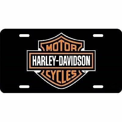 Offical Harley Davidson Motorcycles Fat Boy Metal License Plate Sign Tag
