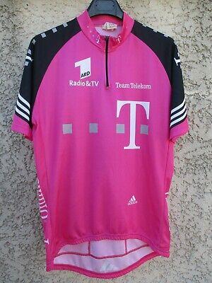 Maillot TEAM TELEKOM trikot shirt ADIDAS Tour 2002 ZABEL ULLRICH 6 D8 (XXL) US L | eBay