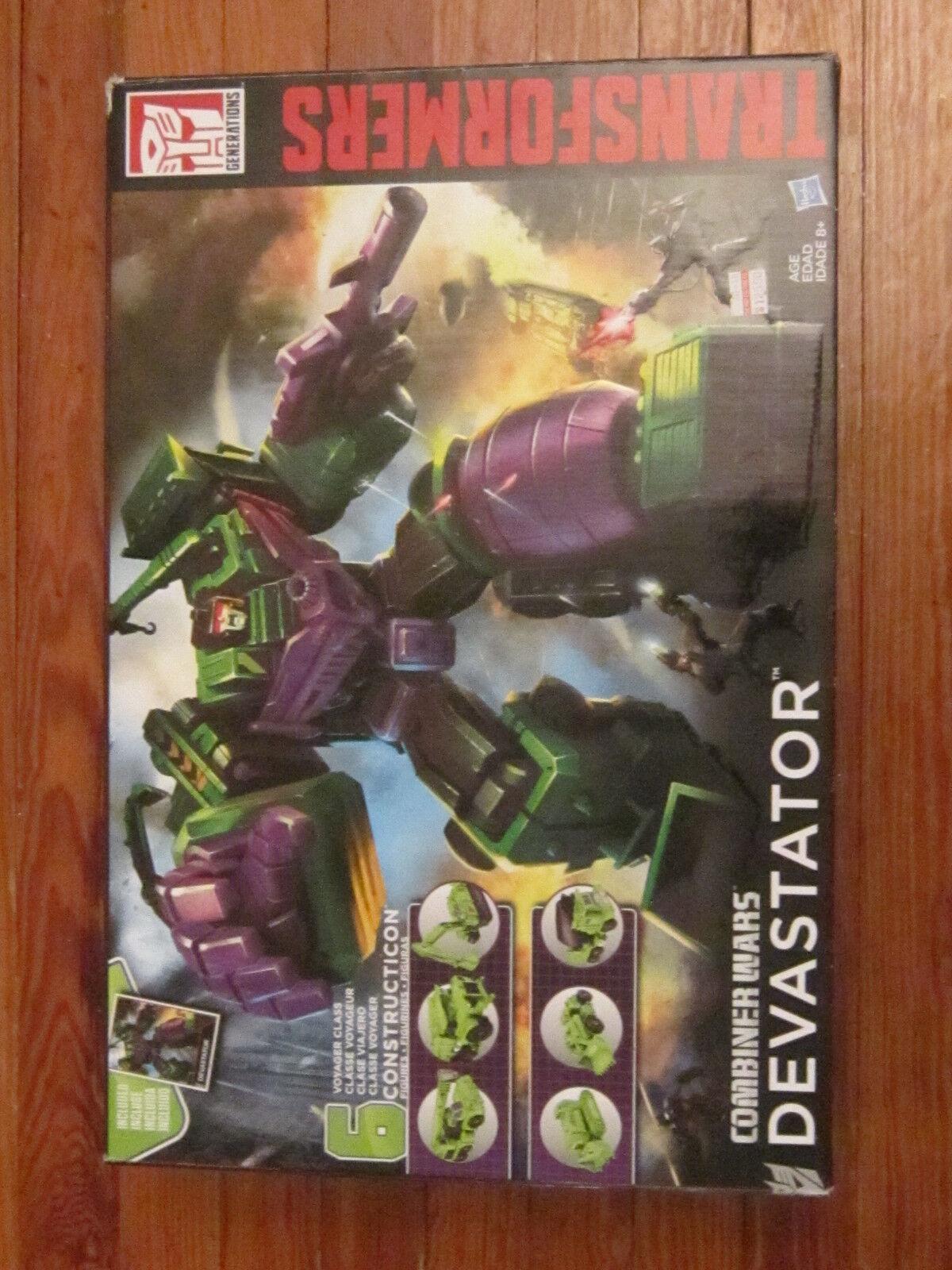 Hasbro Transformers Generations Combiner Wars Devastator Action Figure