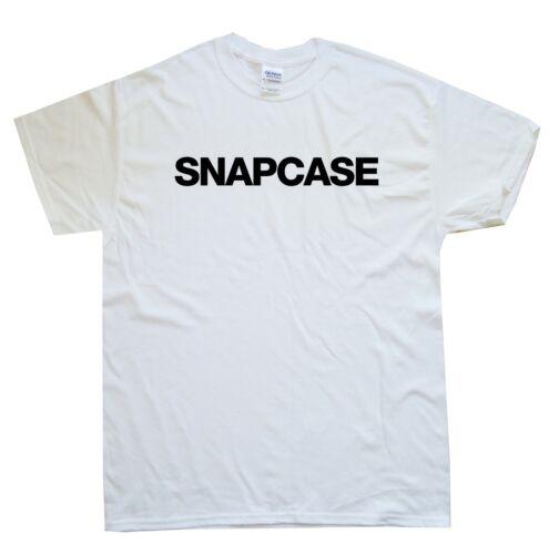 SNAPCASE new T-SHIRT sizes S M L XL XXL colours Black White