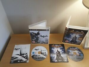 Batman-Arkham-Asylum-GOTY-Edition-ps3-Disc-perfekter-Zustand-frei-p-amp-p