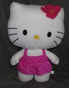 """Hello Kitty Large 26"""" cute Original Sanrio EUC Clean Soft Cuddly"""