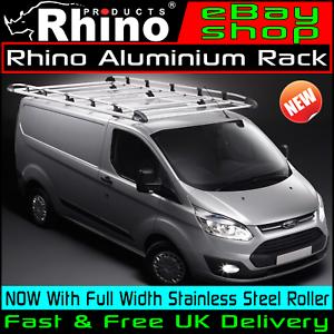 Van Roof Racks >> Lwb Low Tailgate Rhino Aluminium Van Roof Rack Ford Transit