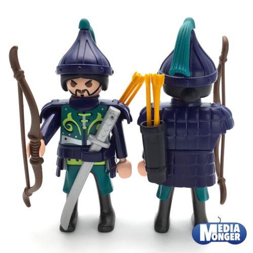 playmobil® Figur SamuraiMongoleAsiateKriegerRitterBogenschütze