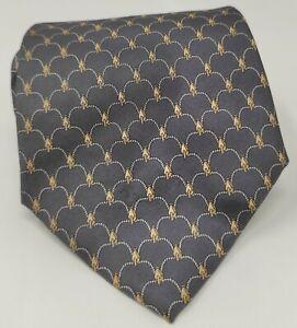 Cravatta-gucci-GG-100-pura-seta-tie-silk-original-made-in-italy-handmade