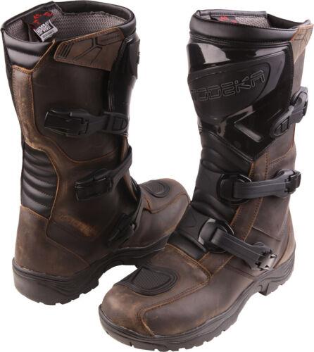 Stiefel Modeka Ikarus Enduro Gr 43 Endurostiefel braun Touring Adventure Boots