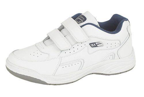 Dek - scarpe da ginnastica da uomo a pianta larga con proprietࠡntiscivolo, Bianco, (k0A) | Eccellente  Qualità  | Gentiluomo/Signora Scarpa