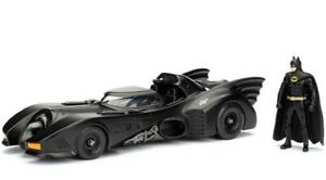 Jada-Toys-1-24-1989-Batmobile-con-Batman-personaje-DIECAST-metal-maqueta-de-coche