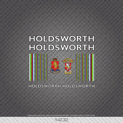 Transfers 0648 Holdsworth Professional Bicycle Stickers Decals