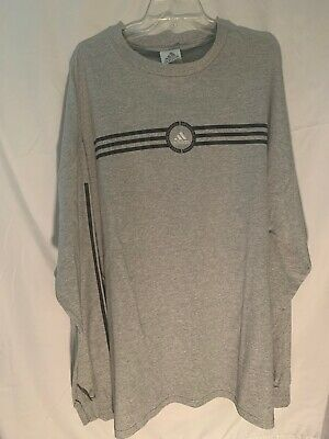Men Adidas (Three Stripe Athletics Impossible Is Nothing) LS T Shirt (Gray)2XL | eBay