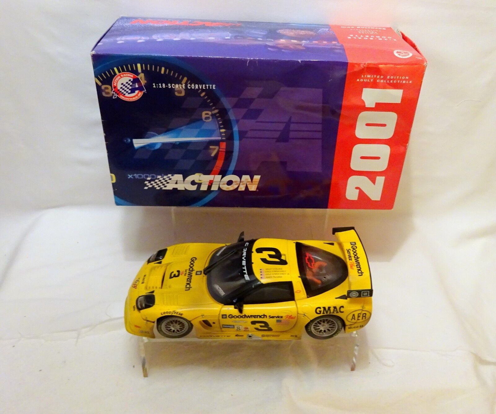 Earnhardt  Andy Pilgrim Kelly Collins Corvette 1 18 Action    (22)
