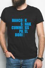 Buck Foris B T-Shirt Funny F*** Boris Tee Anti Tory Black White Protest Resist