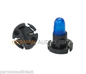 2x-JAGUAR-LIGHT-BULBS-LAMPS-CLOCK-DISPLAY-DASH-PANEL-INSTRUMENT-BLUE-LNA5180CA