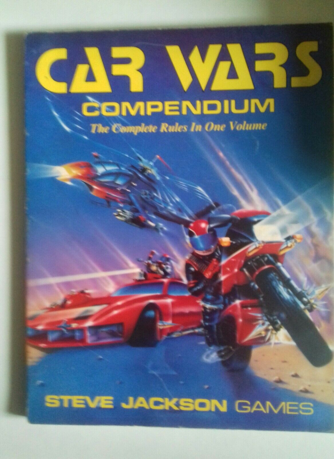 Car wars compendium RPG sci-fi roleplaying book