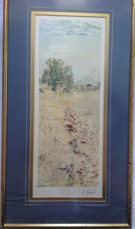 Limited Edition Print of painting by Adolph Jentsch - signed by Adolph Jentsch