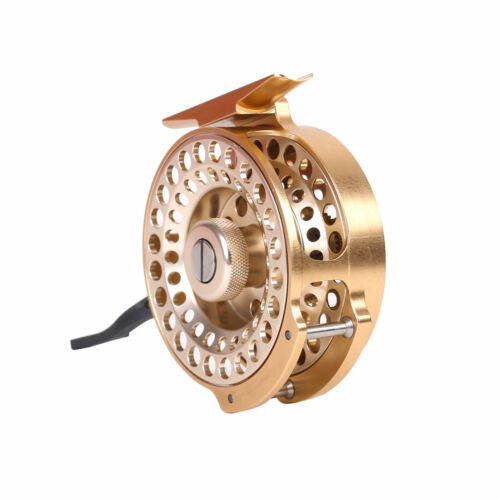 Automatic Fly Fishing Reel Freshwater Super Light CNC-Machined Aluminum Body