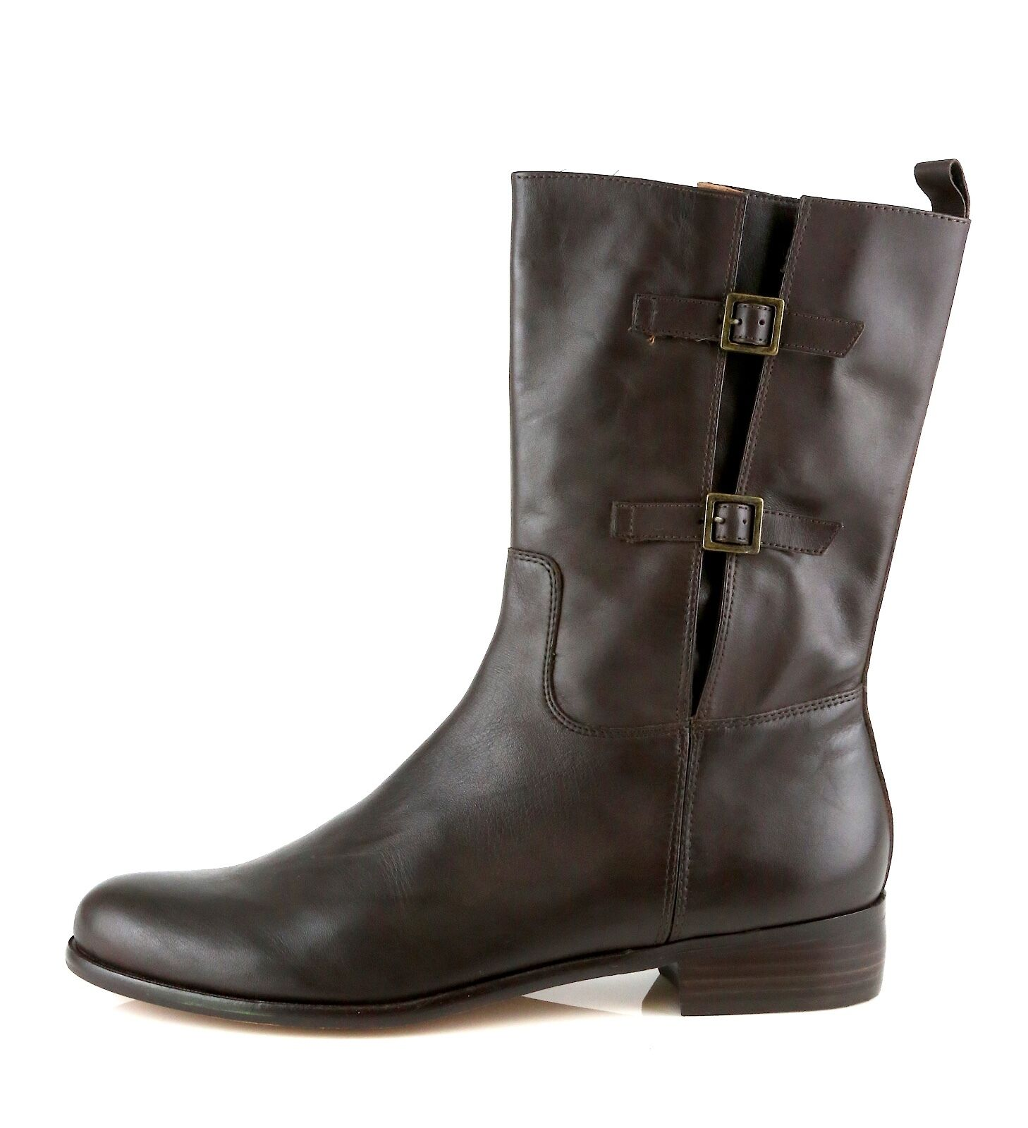 Corso Como Shepparton Woman's Coffee Brown Leather Boots 8451 Size 9.5 M NEW!