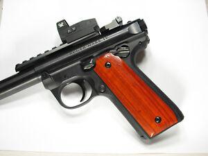 BLOWOUT Factory RUGER Hunter Mark MK IV 4 Cocobolo Wood Grips MK4 MKIV