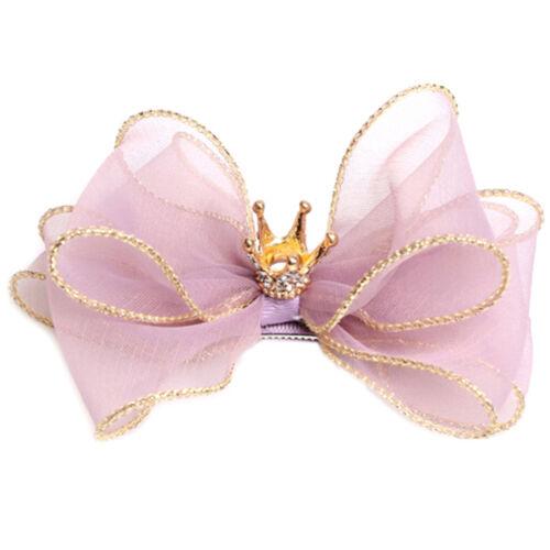 Children three-dimensional hair clips flower crown hair ornaments rim hairpin ..