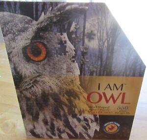 I AM OWL 550 PIECE JIGSAW PUZZLE