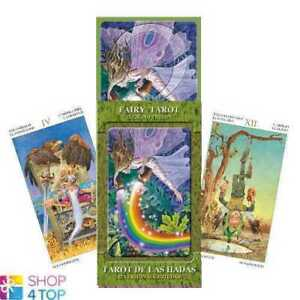 FAIRY-Tarot-GRAND-TRUMPS-22-Cartes-Lupatelli-Esoterique-Raconte-lo-scarabeo-Neuf