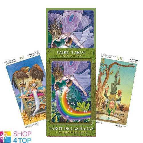 Fairy Tarot Grande Atouts 22 Cartes Lupatelli Ésotérique Diseur lo scarabeo Neuf