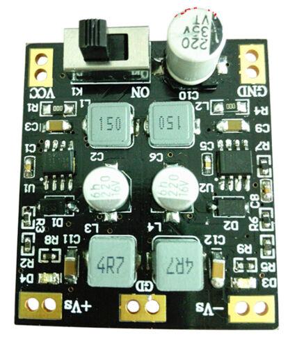 TPS5430 14V-24V To ±12V Regulated Power Supply Module Low Ripple Double Filter