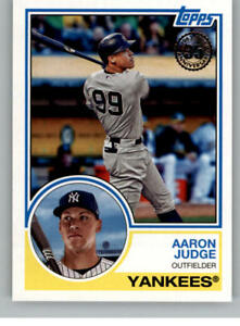 Details About 2018 Topps 1983 Topps 35th Anniversary Baseball Cards Pick From List