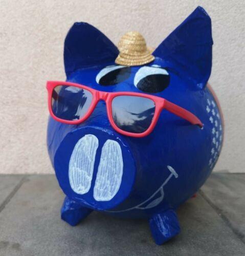 Sparschwein XXL USA Skyline New York Urlaubskasse Geldgeschenk Reise Flitterkass