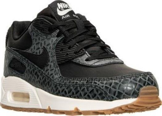 Authentique Nike Air Max 90 Premium black Gomme Mayenne brown 443817 010
