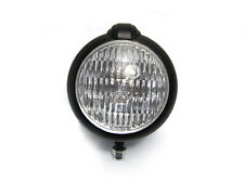 Custom Black Bates Style Metal Headlight for Suzuki Cafe Racer Scrambler Project
