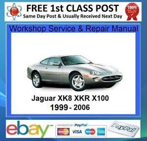 JAGUAR-XK8-XKR-X100-1999-to-2006-WORKSHOP-SERVICE-REPAIR-MANUAL