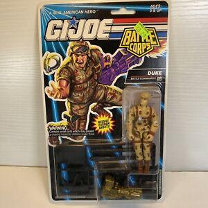 """GI Joe Duke 3.75"""" Action Figure 1992 Hasbro Cobra Battle Corps Commander"""