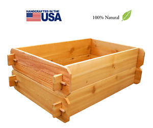 Image Is Loading TIMBERLANE GARDENS Raised Planter Garden Bed Outdoor Patio