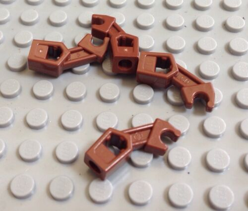 LEGO 4X Lot Of 4 Droid Parts Brown Bad Robot Arm Star Wars