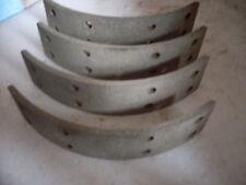 "FORD CORTINA Mk2 & LOTUS, CORSAIR MODELS, 1966/1970,4x REAR 9"" BRAKE SHOELININGS"