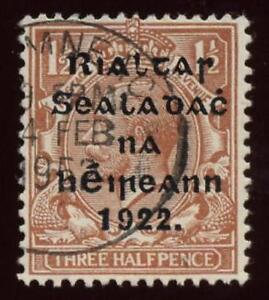 IRELAND-1922-THOM-1-1-2d-USED-in-1952-SUPERB