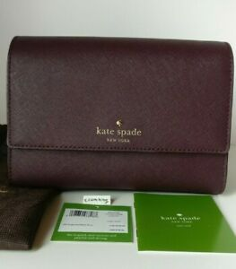 Kate-Spade-New-York-Cedar-Street-Magnolia-Crossbody-Handbag-Purse-Mahogany