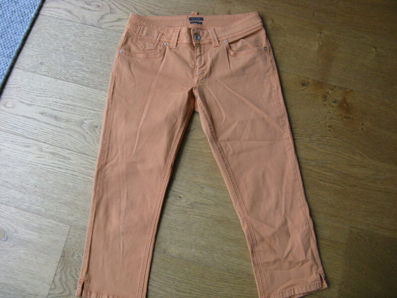 "3/4 Hose ""marc O Polo"", Modell Skaara Capri, Gr. 27, Orange üBerlegene Materialien"