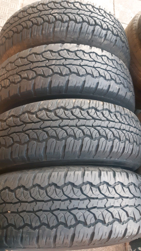 A set of 16inch mags and tyres for Isuzu in a very good condition